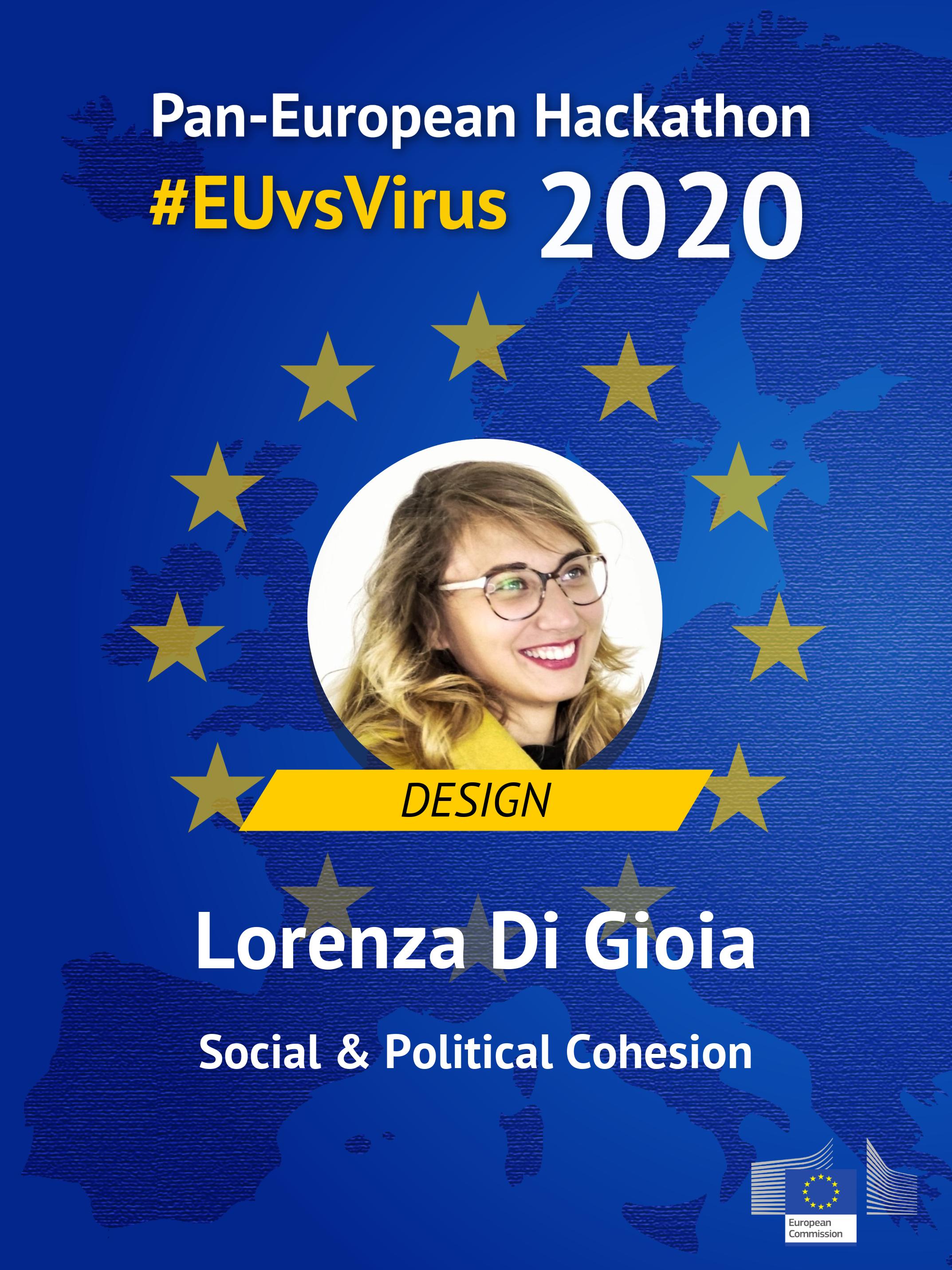 EUvsVirus Participant Badge